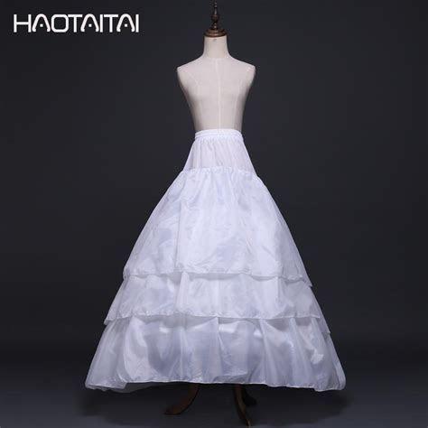 Bridal Petticoat Cheap 3 Layers Court Train Wedding