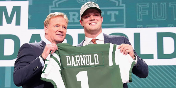 f51ad3bfe Former USC Trojan QB Sam Darnold signs with New York Jets