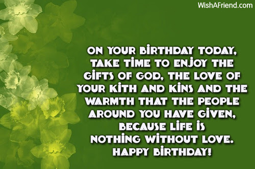 Inspirational Birthday Messages
