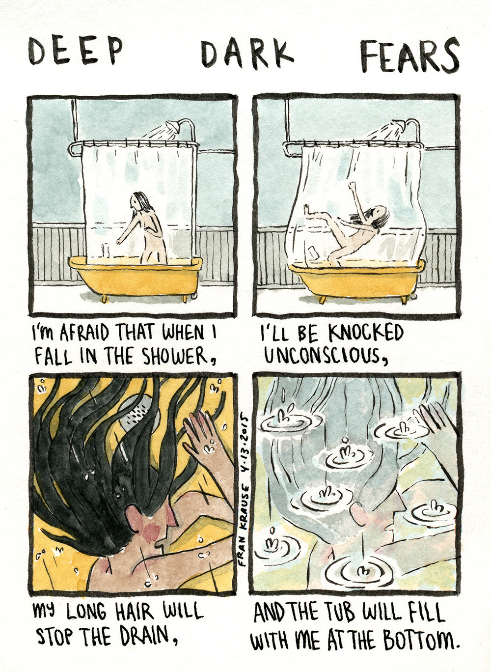 A fear submitted by Annie to deep dark fears. Thanks!