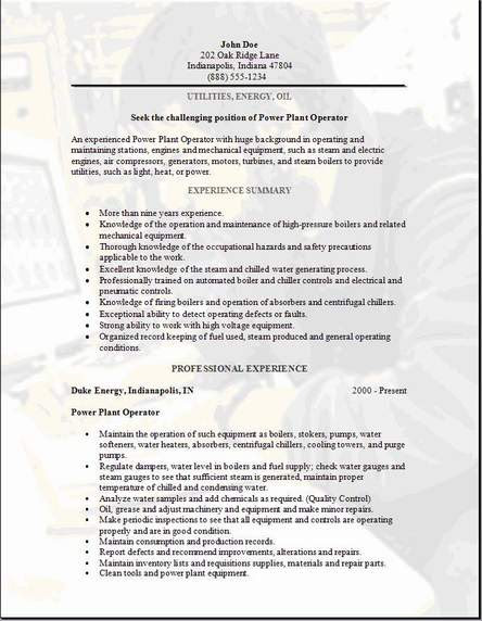 Resume and cv writing services oil