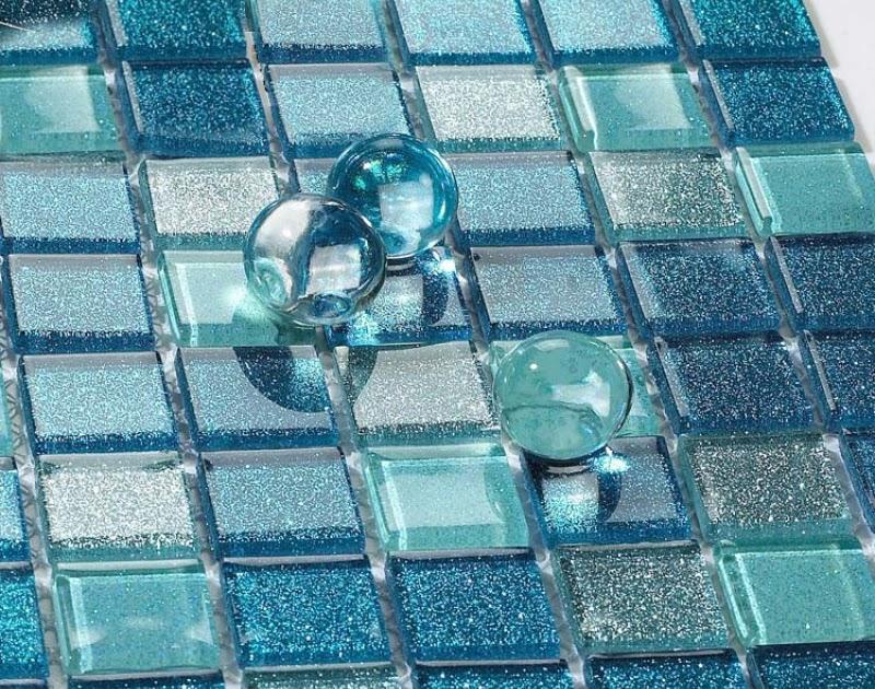 Brown Gray Linear Glass Mosaic Tile Kitchen Backsplash Wall Sink Shower 10SF