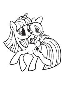 Coloriages My Little Pony à Imprimer Coloriages Dessins Animes