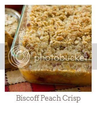 """""""Biscoff Peach Crisp"""""""
