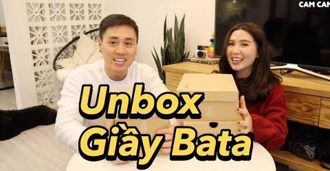 Bố mẹ Cam chọn Giầy dịp Tết , Unbox bộ sưu tập mới của Bata Vlog 72