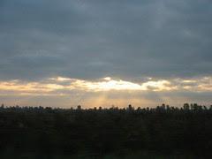 Sunrise in Montreal