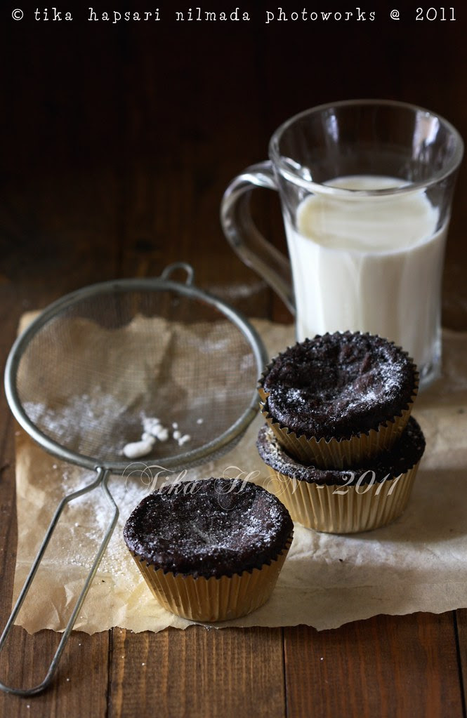 (Homemade) - Brownie in cups