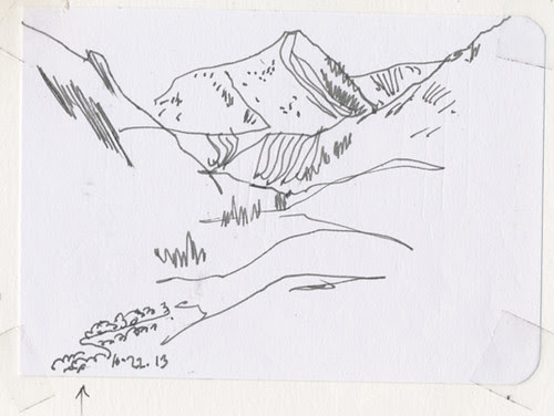 Oct 2013: Yosemite Trip - Quick Sketches