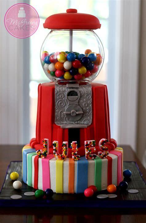 Gumball Machine Cake Class!   McGreevy Cakes
