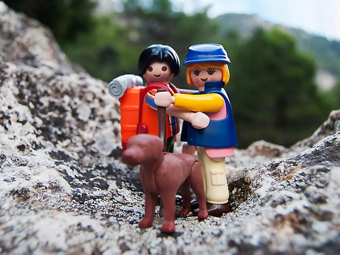Playclicks, Playmobil , Lego, Beceite,Beseit,parrizal, Matarraña,piedras