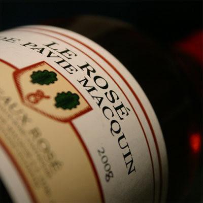 Bordeaux 2008 rosé: le rosé de Pavie Macquin 2008