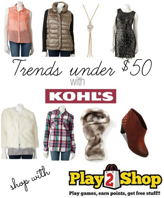 kohls play2shop collage