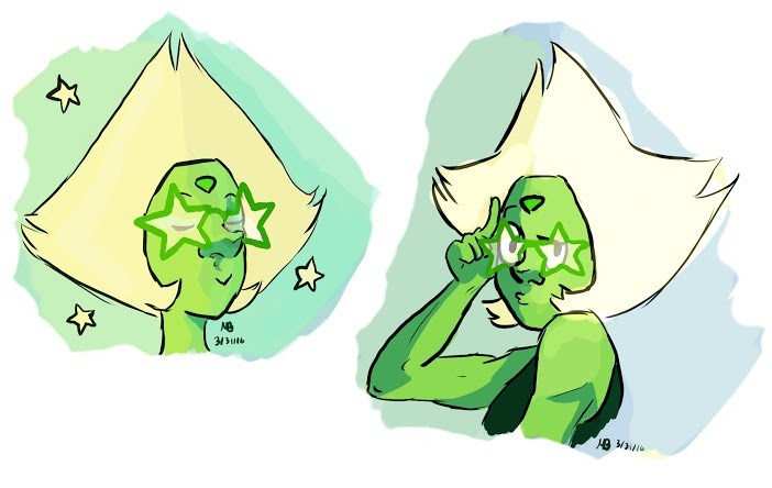 But have you considered star sunglasses? Some quick peridoodles I did instead of my work 😁