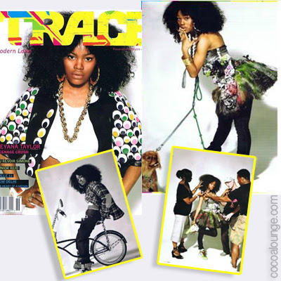 Teyana Taylor: Trace Covergirl
