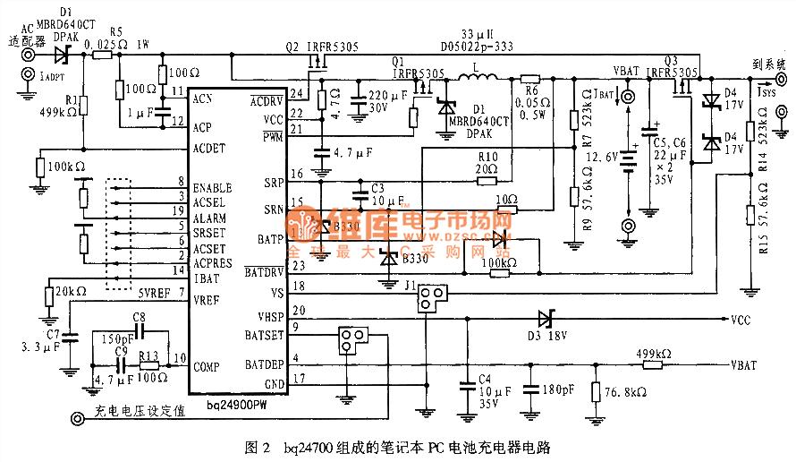 Repair Laptop Battery Charging Circuit