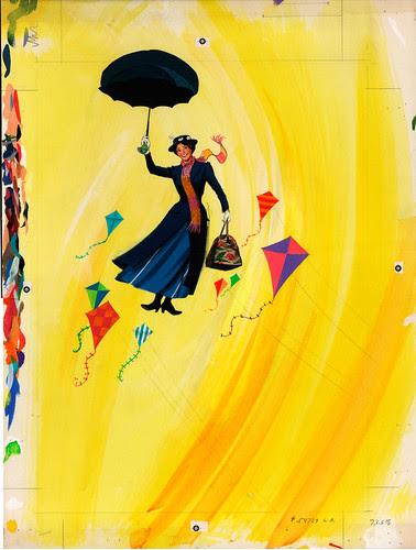 Disney On Parade 1973 Souvenir Program - Cover Painting - Nixon Galloway