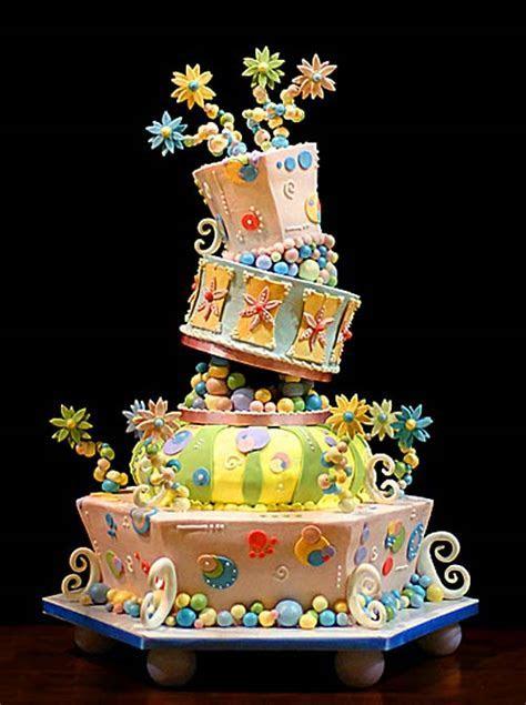 Fun and Whimsical Wedding Cakes
