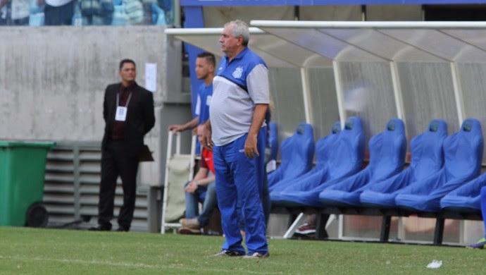 Marcos Birigui, técnico Sinop (Foto: Júlio Tábile/SinopFC)