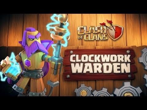 Clash of Clans: Clockwork Warden (April Season Challenges   Clashy Constructs #1