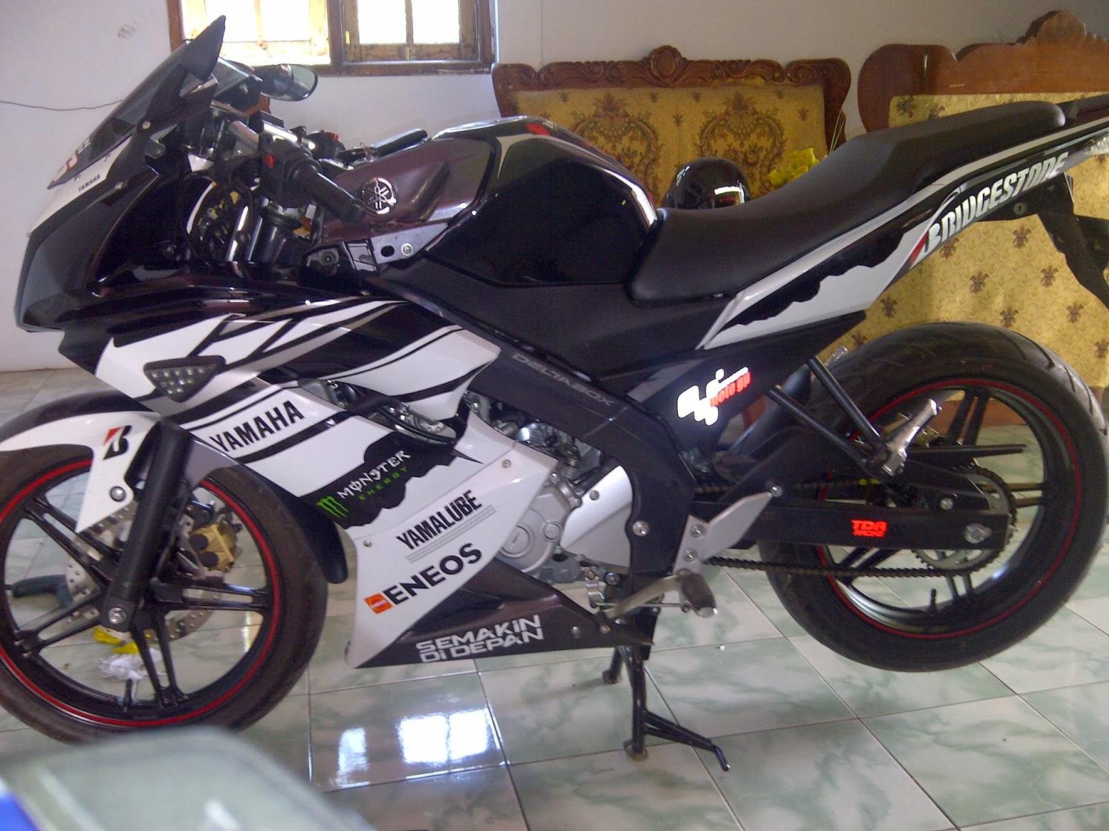 6 Bentuk Modifikasi New Yamaha Vixion 2013