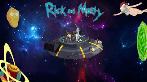 rick  morty desktop backgrounds hd  cute wallpapers
