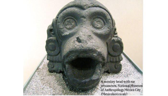 Monkey Aztec Symbol