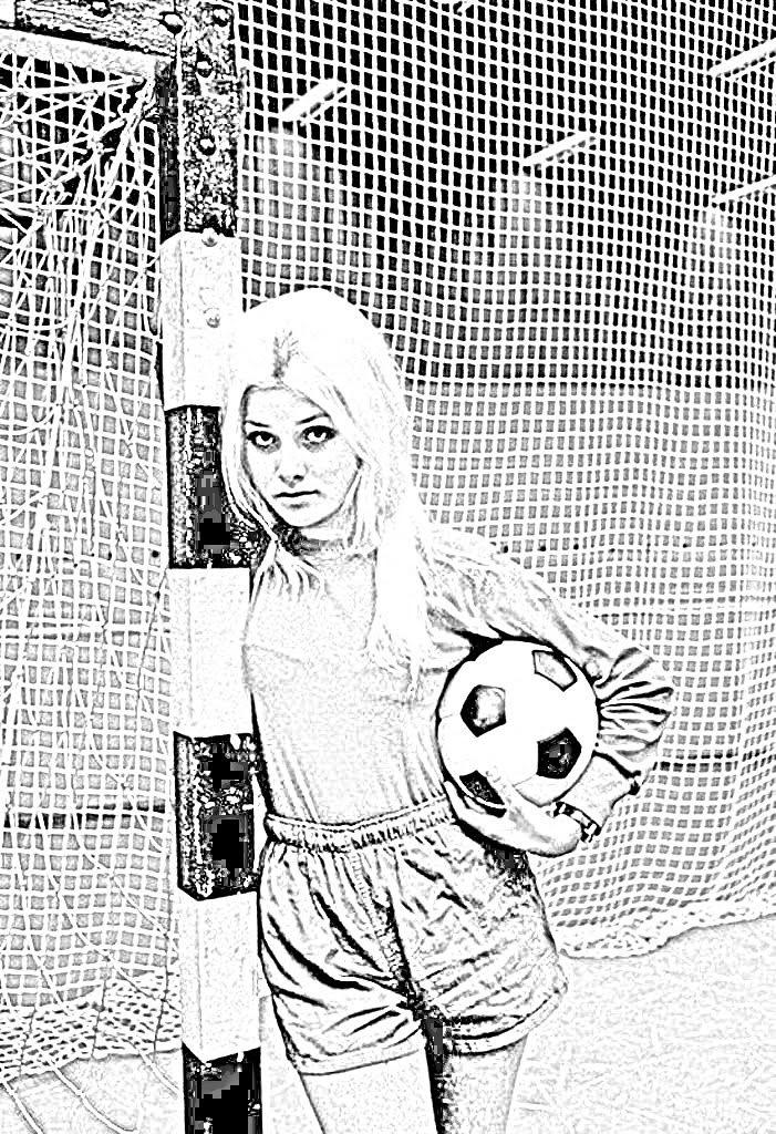 Janet Argen Soccer Goalie 408