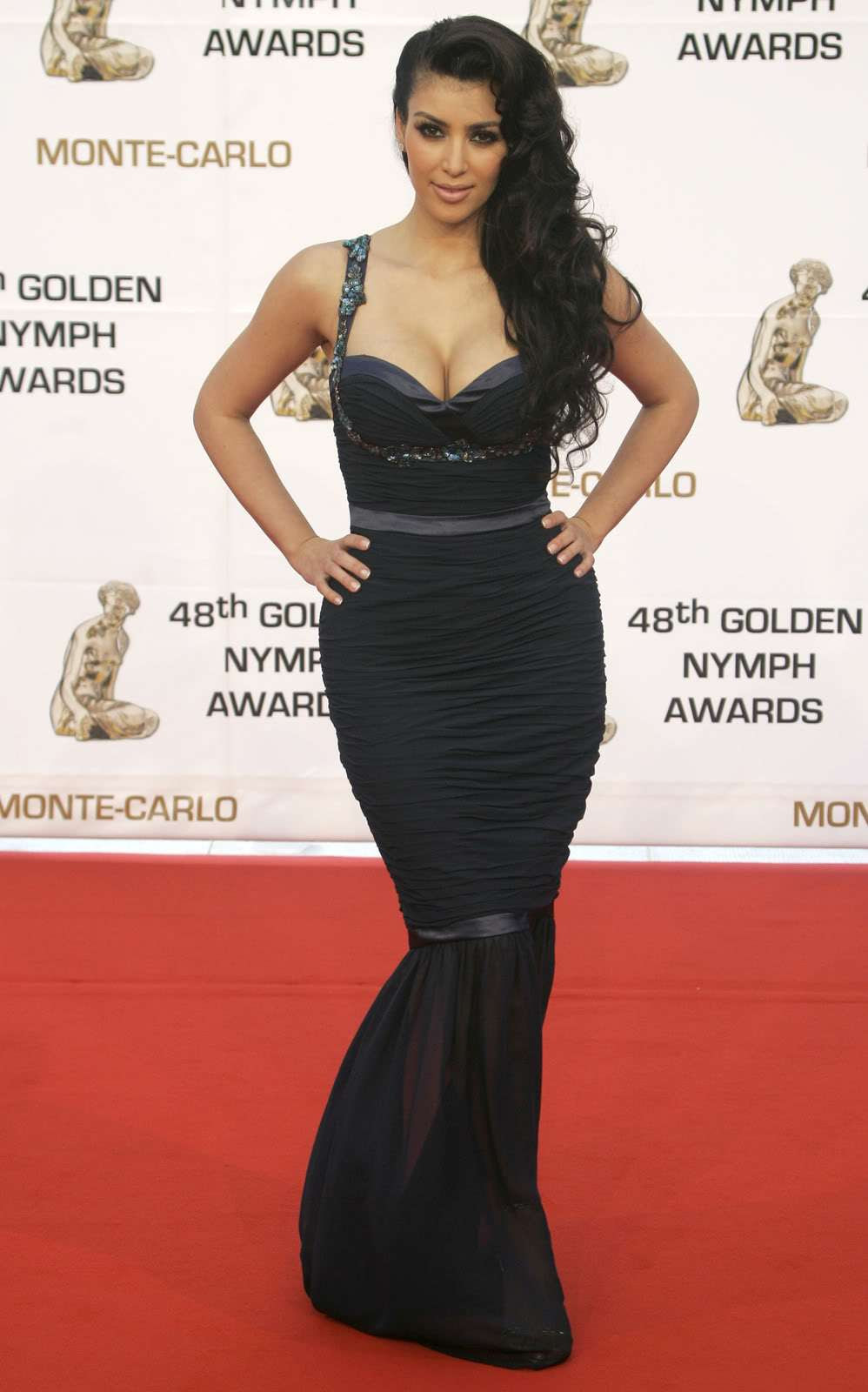 Kim Kardashian - The Golden Nymph Awards Ceremony - Sexy Actress Pictures | Hot Actress Pictures