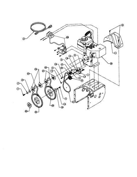 ENGINE Diagram & Parts List for Model 247888510 Craftsman