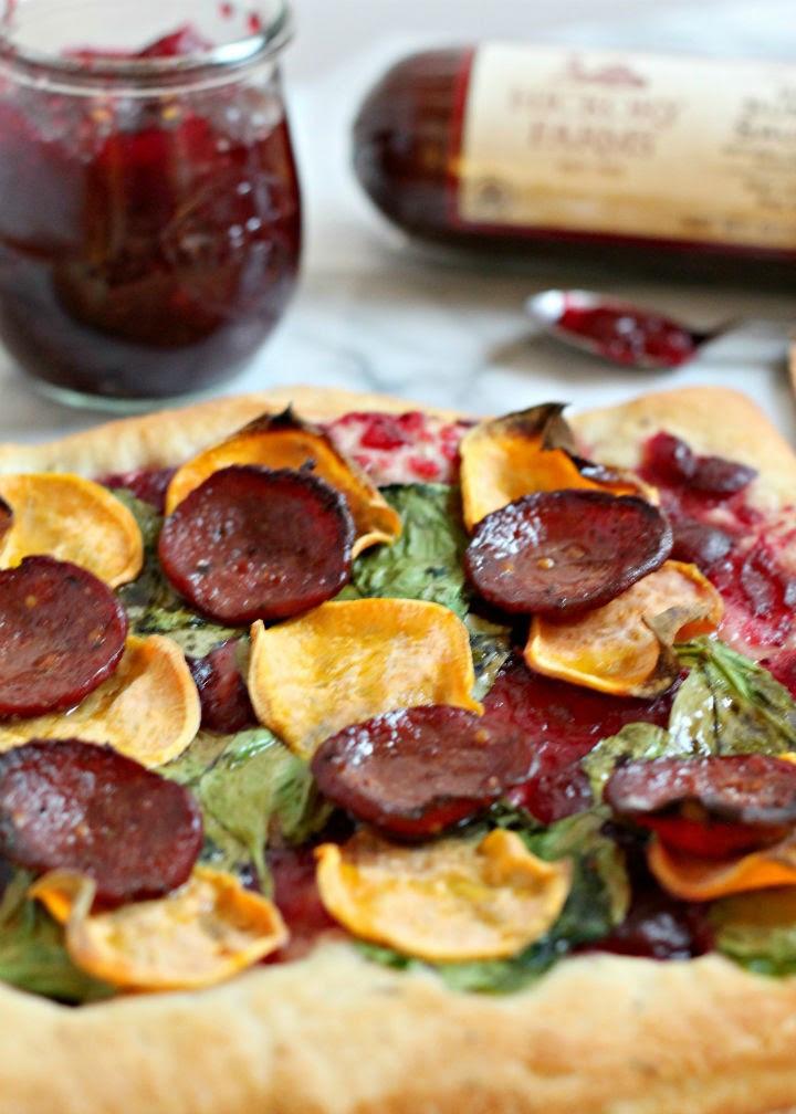Summer Sausage Flatbread Recipe | Hickory Farms