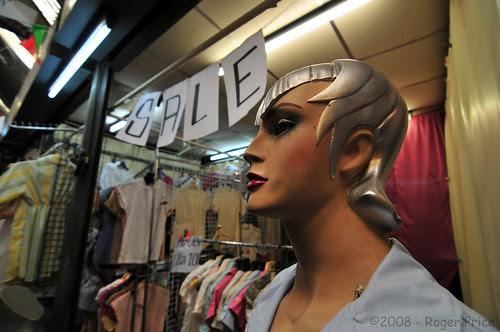 Mannequin in the market by antwerpenR
