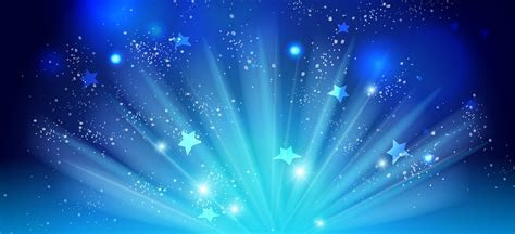Blue Background, Star, Light Effect, Cool Background Image