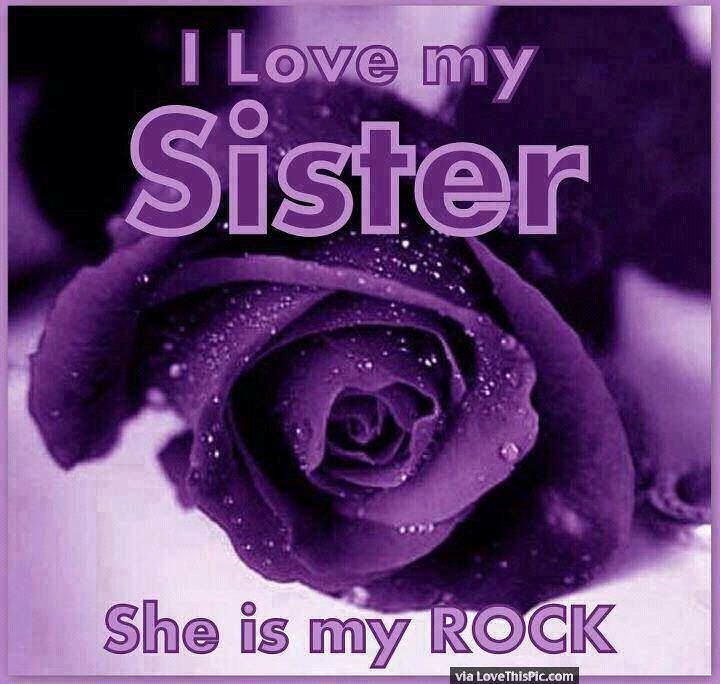 I Love My Sister She Is My Rock Pictures Photos And Images For