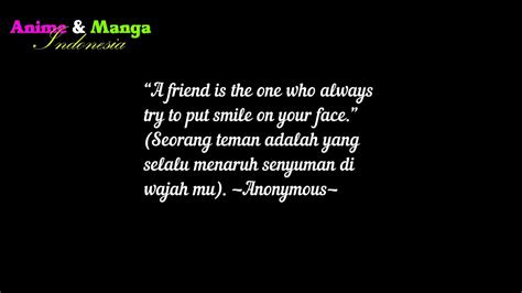 kata mutiara sahabat sejati bahasa inggris
