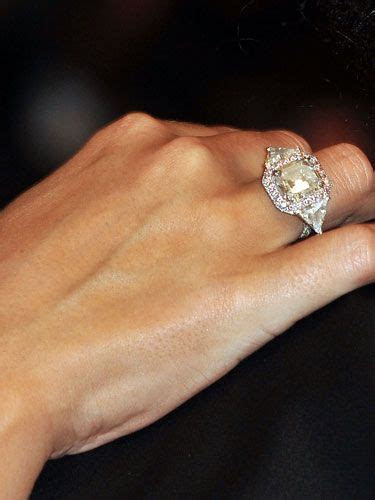 Mariah Carey's engagement ring, stunnning   Engage In This