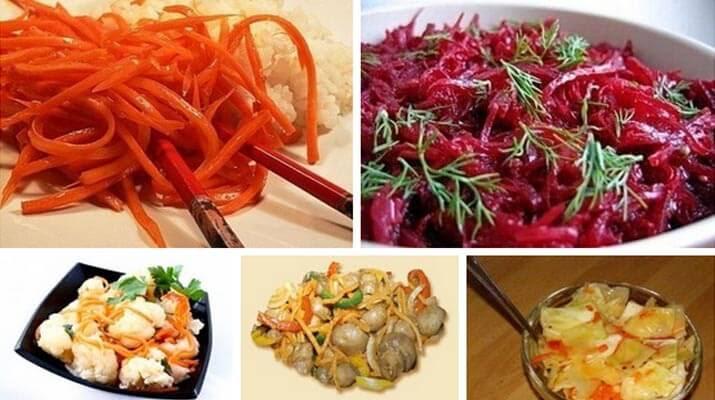 Салаты по-корейски: 5 рецептов!