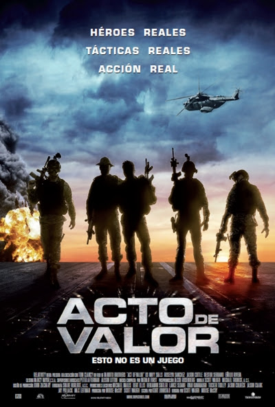 Cartel de Acto de valor (Act Of Valor)