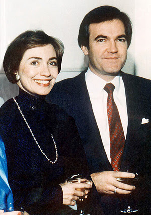 Hillary and Vince Foster