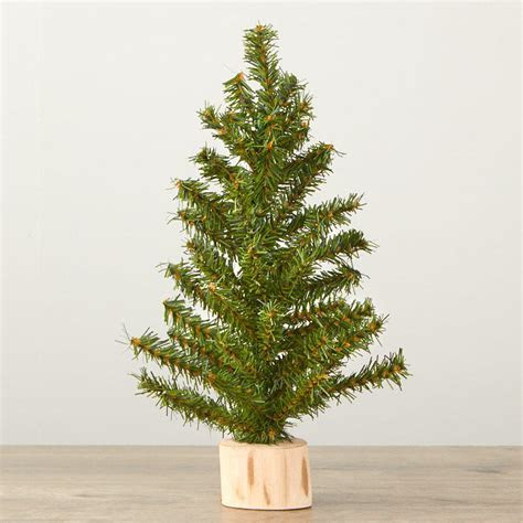 "12"" Artificial Canadian Pine Tree   Trees and Toppers"