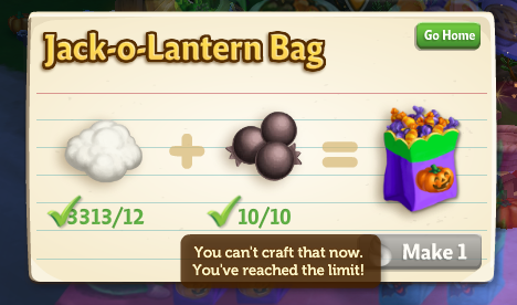 Trick-or-Treat Stand - FarmVille 2