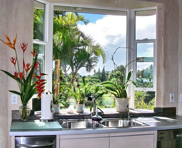 Garden Windows for Kitchens Upgrading the Outlook Right ...
