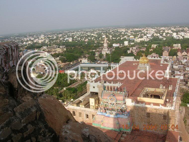 Rockfort Ucchi Pillayar Temple, Thiruchirapalli