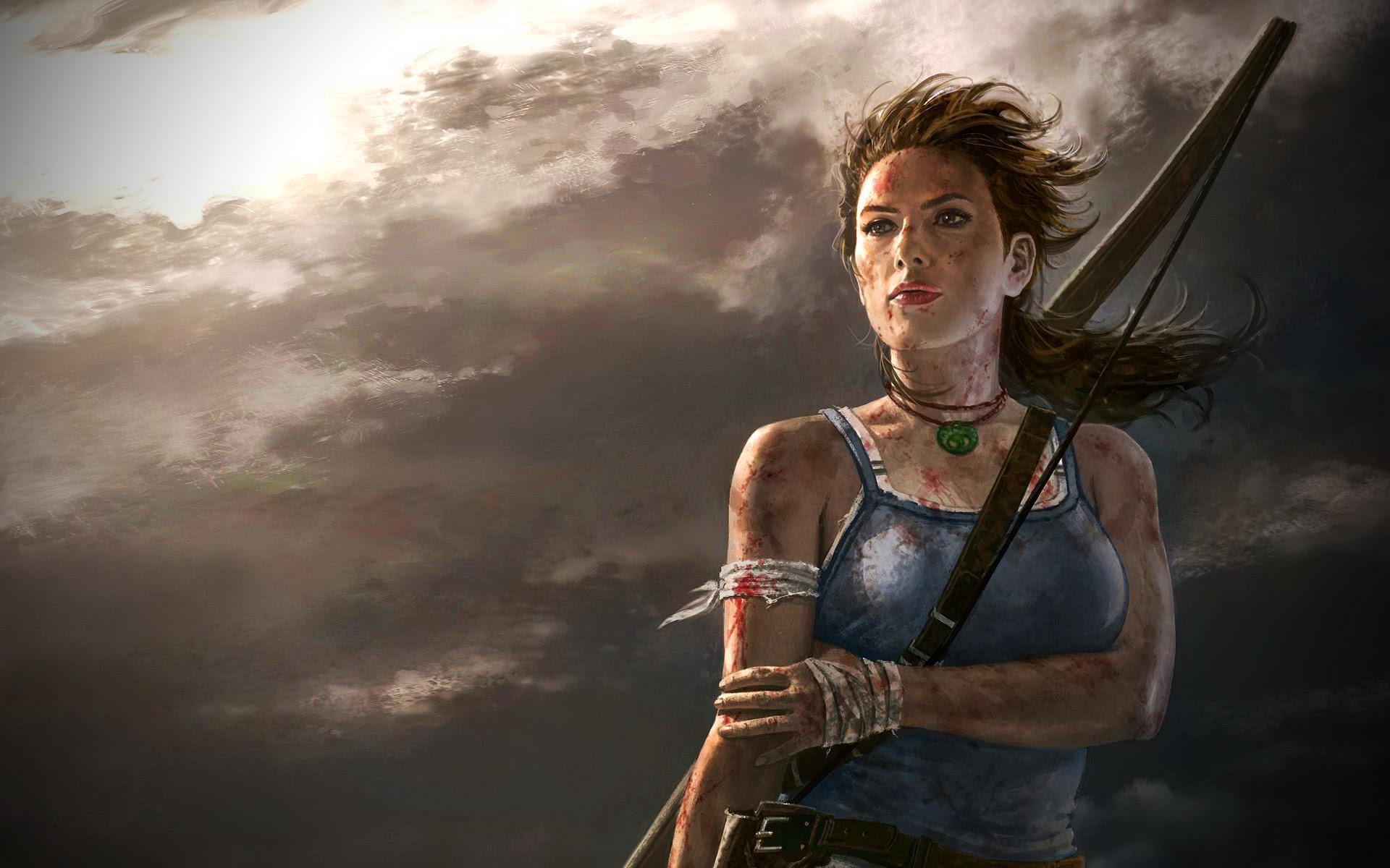 Tomb Raider Tomb Raider Wallpaper 40613424 Fanpop