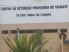 CDP de Taubaté é de novo interditado (Reprodução/TV Vanguarda)