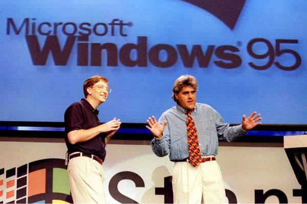 Windows 95 Was A Huge Deal At The Time
