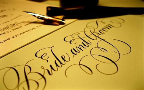 How Much Does Wedding Calligraphy Cost?   in 2018