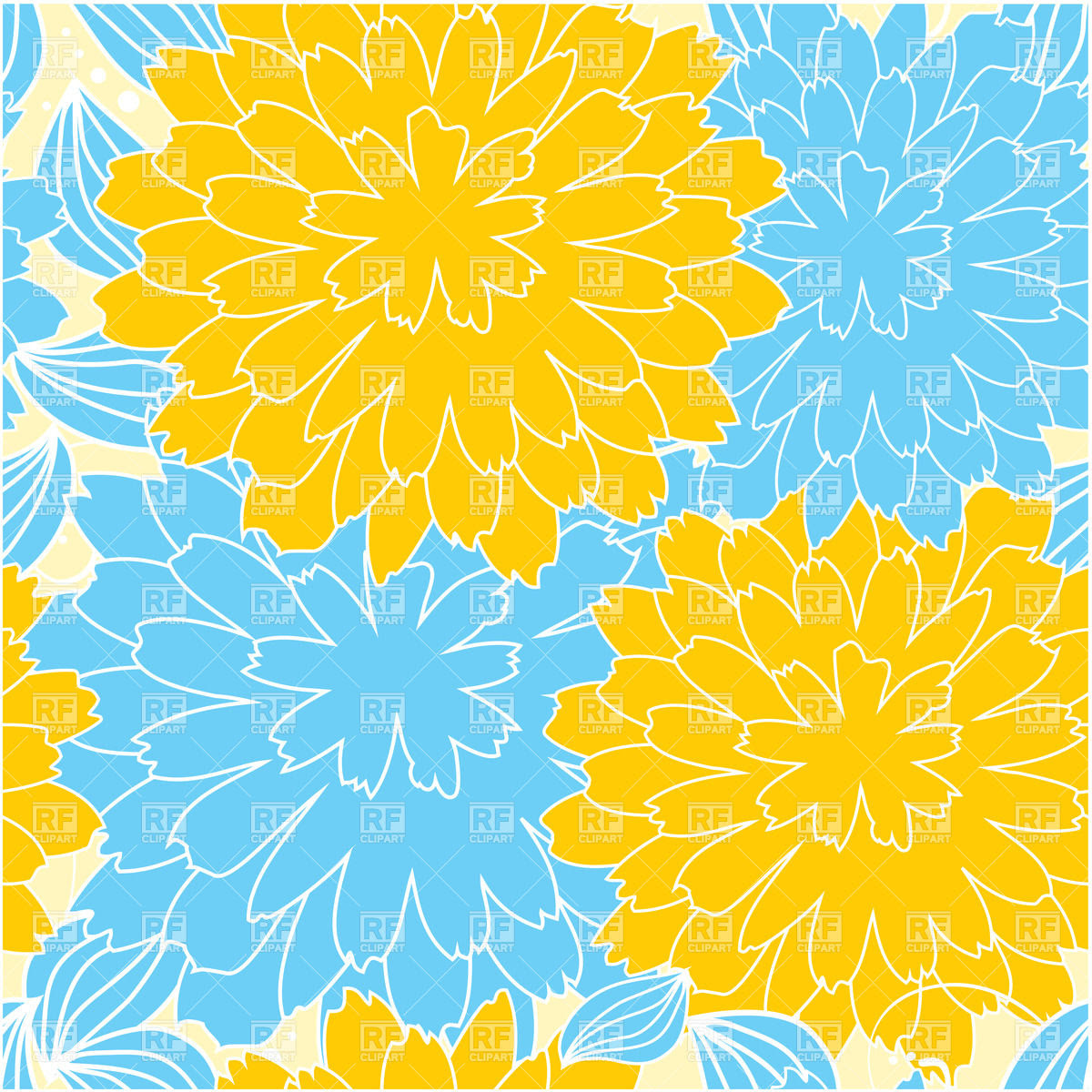 chrysantheme clipart 19