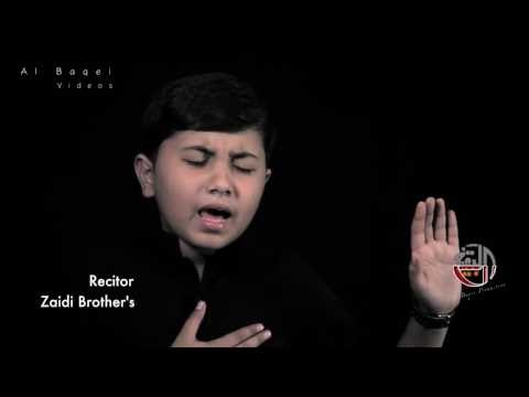 Exclusive Nohay for Ayyam-e-Fatima S.A 1438/2017 Tmhare Bad Masib Ki Had...