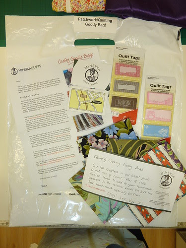 35 - Minerva Crafts - Goodie Bag (Patchwork 'n' Quilting)