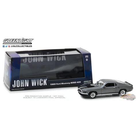 greenlight   ford mustang boss  john wick